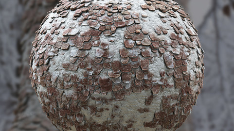 Tree Bark Material - Substance Designer