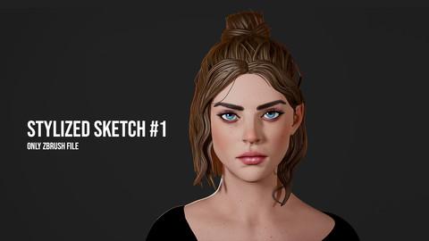 Stylized Sketch #1