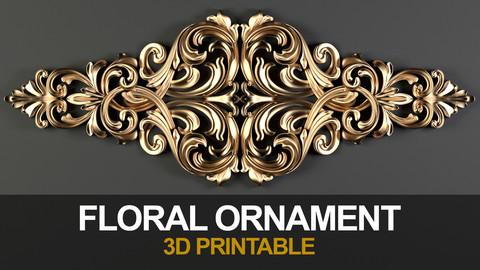 Floral Ornamnet (3DPrintable)_02