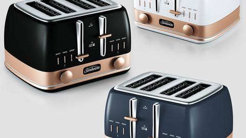 sunbeam classic bronze toaster