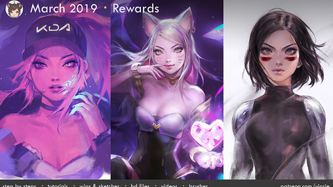 March 2019 Patreon Rewards
