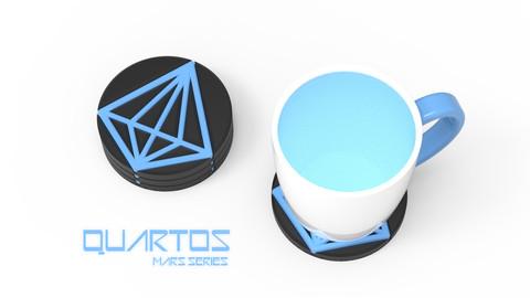 QUARTOS - 3D PRINTABLE COASTER
