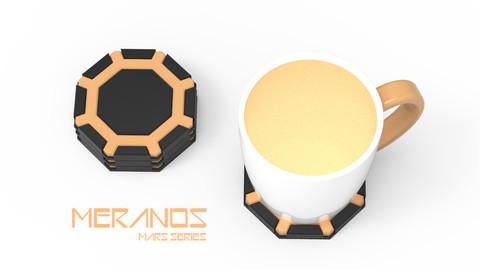 MERANOS - 3D PRINTABLE COASTER