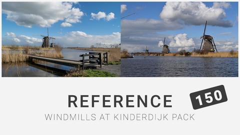 Reference: Windmills at Kinderdijk Pack 150