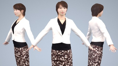 Animated 3D-people 028_Haru