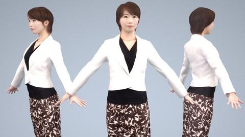 Animated 3D-people 028_Haru