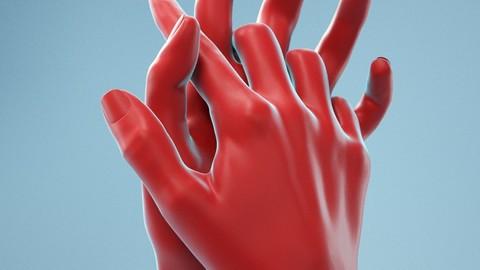 Interwoven Realistic Hand