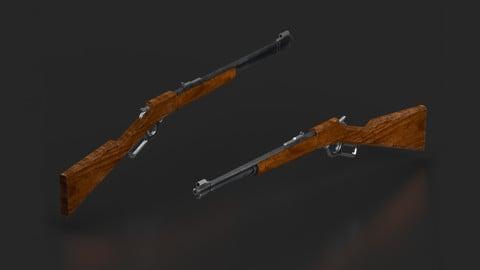 Lever Action Gun