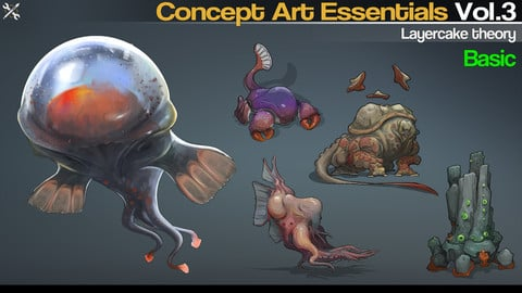 Concept Art Essentials Vol.3