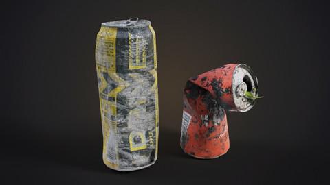 Damaged energy drinks