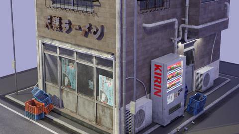 Old Japanese Ramen Shop |古いラーメン屋