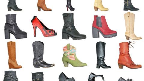 20 Vintage Clothing Footwear