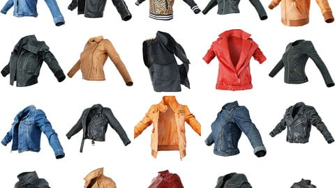 20 Vintage Clothing Jackets