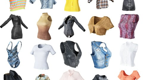 20 Vintage Clothing Tops