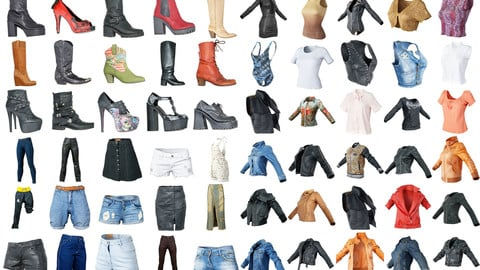 80 Vintage Clothing Items