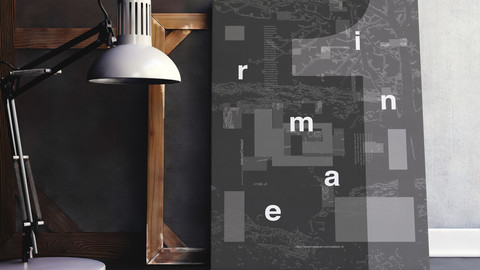 Abstract Typography Posters