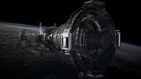 2050 Space Station