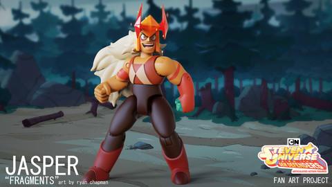 """Gem Defenders: Jasper 5"""" Printable Action Figure"""
