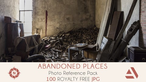 Photo Reference Pack: Abandoned Places