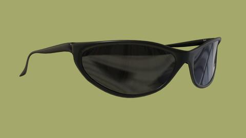 Sunglasses made using Blender 3D