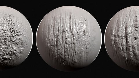Zbrush - Bark Brushes Vol.1