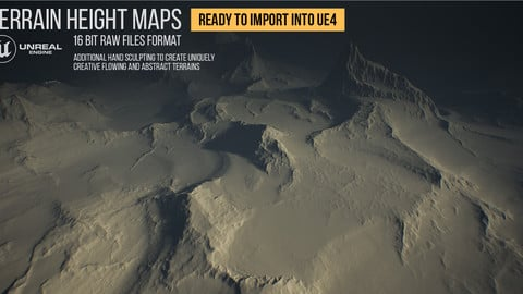 UE4 Terrain Height Maps