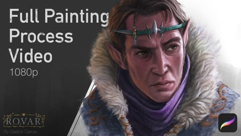 Character Bust Painting 2 - Full Process Video