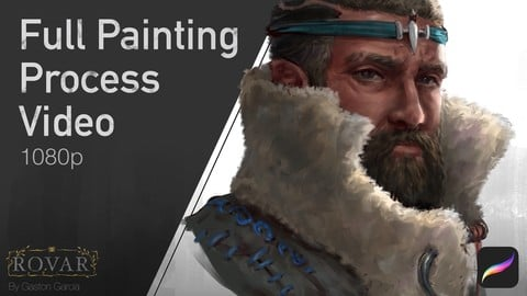 Character Bust Painting - Full Process Video