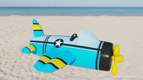 Plane Inflatable Toy