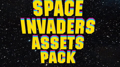 Space Invaders Game design pack