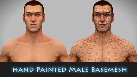 hand Painted Male Baemesh