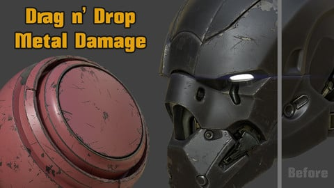 Drag n' Drop Metal Damage Smart Material