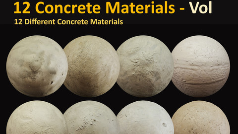 12 Concrete Materials - Vol1