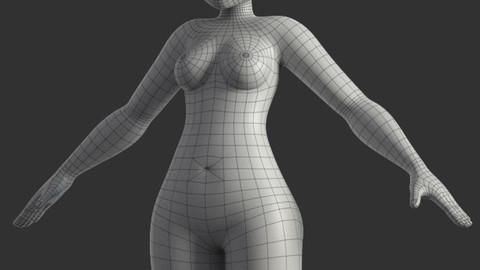 Stylized Female Base Model