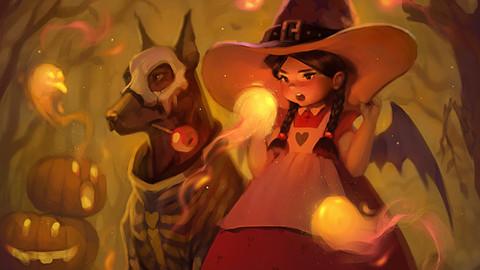 Spirits of Halloween - time lapse video