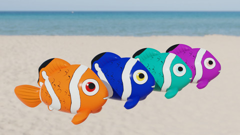 Fish Inflatable Toy