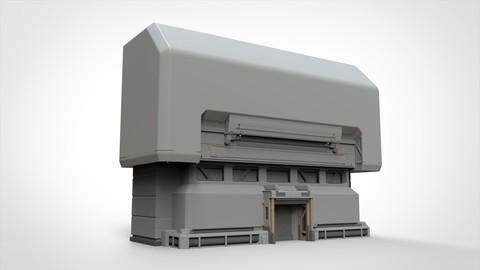 sci-fi Architectural element 2