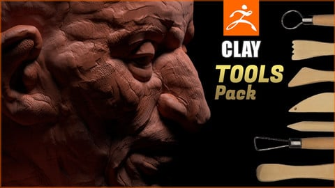 Clay Sculpting ZBrush Pack