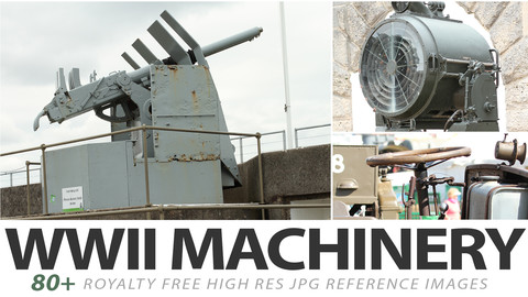 WWII Machinery - reference images
