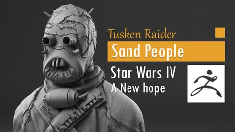 Tusken Raider - Sand People - Star Wars episode IV A new hope