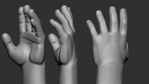 Hand1 stylized