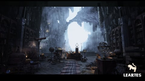 Merlin s Cave Environment ( Fantasy / Dungeon )