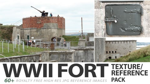 WWII FORT - reference images