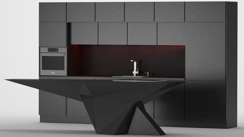 Geometric Kitchen