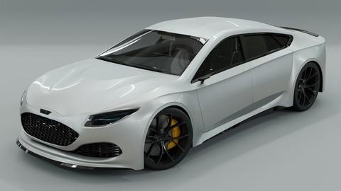 Generic 4 door V8 Sports Car