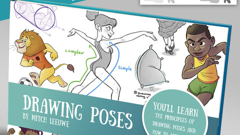How to draw poses ebook & video