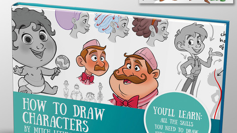 How to draw characters Ebook & video