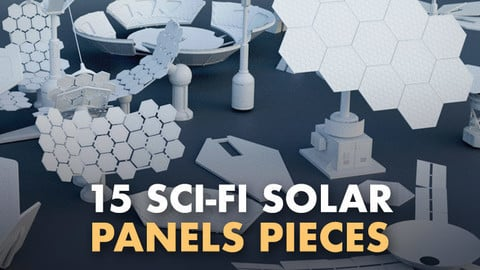 15 Sci-Fi Solar panels pieces