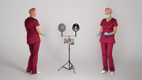 Surgical female doctor working 210