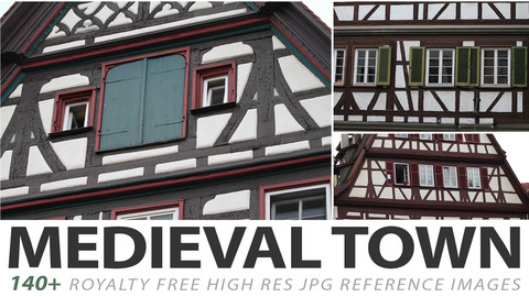 Medieval Town - reference images